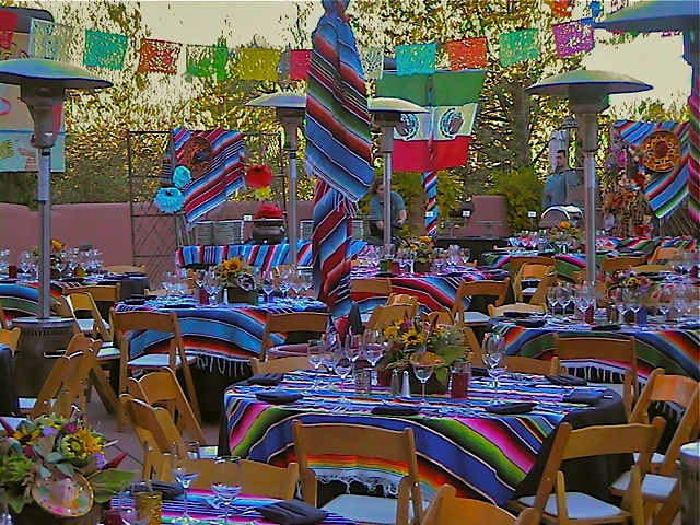 Mexican Fiesta Theme, Enchantment Resort, Sedona AZ.